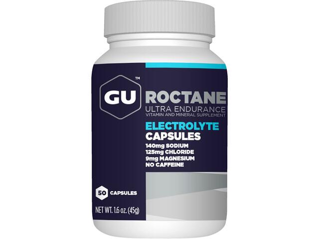 GU Energy Roctane Electrolyte Boîtes Pastilles 50 pièces